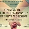 Tristan's Open Relationship Intensive in LA